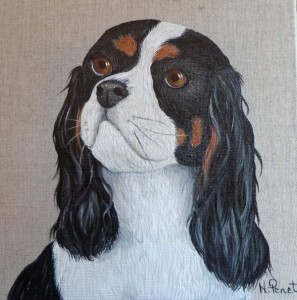 portrait cavalier king charles