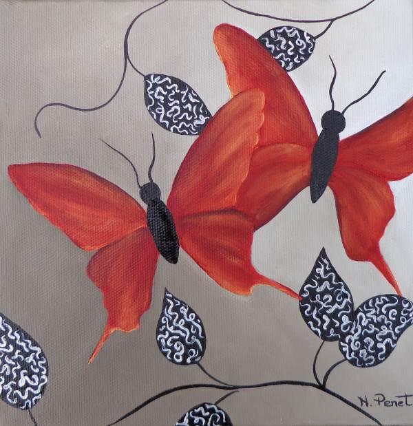 papillons rouges nathalie penet. Black Bedroom Furniture Sets. Home Design Ideas