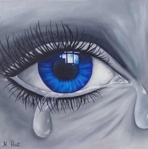 rien qu'une larme